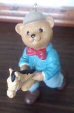 Hallmark SON - Bear on Horse -1996 Christmas Ornament