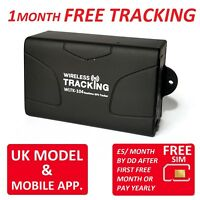 3 Month FREE UK Realtime LIVE Tracking with TK104 Vehicle Tracker Car