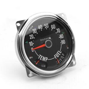 Omix-Ada 17206.04 Speedometer Assembly Fits 55-79 CJ-3B CJ3 CJ5 CJ6 CJ7