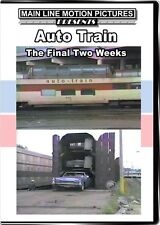 Amtrak's Auto Train The Final Two Weeks DVD NEW Main Line Virginia to Florida