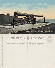 1940's QUEEN ELIZABETHS POCKET PISTOL DOVER KENT UNUSED COLOUR POSTCARD