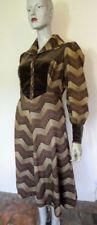Art Deco Velvet Original Vintage Dresses for Women