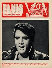 Elvis Presley Fan Club Magazine April/May 1976 AB