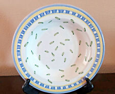 Williams-Sonoma Tournesol Italy Large Rim Soup Bowl Blue, Green