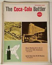 THE COCA-COLA BOTTLER - VINTAGE MAGAZINE - NOV. 1965