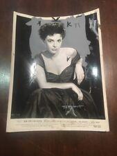 Anne Bancroft Vintage Press Photo 1955 New York Confidential Warner Bros.