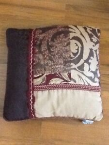 CROSCILL Red RYLAND BED PILLOW