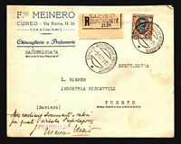Italy SC# 90 on Registered Cover to Germany - Z14790