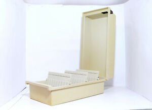 Han 856 Fichier Tischkarteikasten avec Couvercle Beige din A6 - #3
