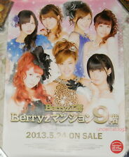 Berryz Kobo Mansion Kyuu 9 kai Taiwan Promo Poster