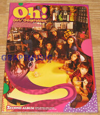 GIRLS' GENERATION SNSD Oh! 2nd ALBUM K-POP CD SEALED