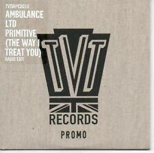 (AR122) Ambulance Ltd, Primitive (The Way I- 2005 DJ CD