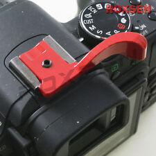 Universal Camera Thumb Up Grip for Fujifilm X10 X100 E1 Olympus E-P1 PL3 PM2 red