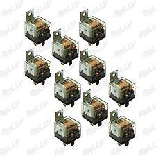 617 NEW RELAY 5 PIN 80-100 AMP 12V CAR AUTOMOTIVE TRUCK ALARM BULB SET 10 PCS