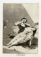 Goya Prints: Three Caprichos Nos.9,8,3: Fine Art Prints