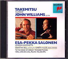 John WILLIAMS: TAKEMITSU To the Edge of Dream Folios Toward the Sea SALONEN CD