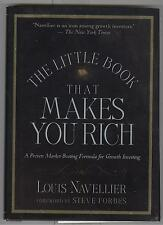 The Little Book That Makes You Rich Autograph by Louis Navellier w/ COA 2007