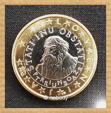 Berühmte Persönlichkeit Unzirkulierte Münzen Aus Slowenien Nach Euro