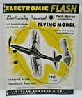 "1960 "" ELECTROMIC FLASH ""  AIRCRAFT toy single sided Dealer Sales flyer L@@K!"