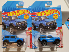 2021 Hot Wheels (Lot of 2): '21 Ford Bronco 4x4 D CASE #100 **New for 2021**