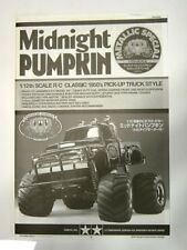 New Tamiya 58365 Midnight Pumpkin Instructions/Build Manual (Re-Release Version)