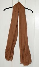 Brown Schal Scarf Fine India Women men Christmas gift new Wrap shawl soft elegan