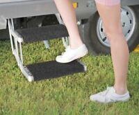 Fiamma Black Clean Step Cover Mat Motorhome Caravan Campervan 04593-01A
