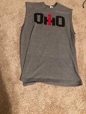 IH International Harvester Red T-Shirt Size  M Medium Sleeveless Ohio New No Tag