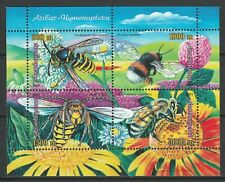 Azerbaijan 2005 Honey Bees MNH Block