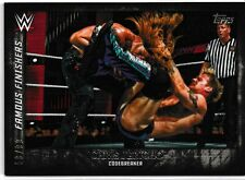 Chris Jericho 2015 Topps WWE Undisputed Famous Finishers Black Card # FF9 58/99