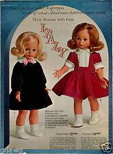 1964 PAPER AD Italian Italy Doll Dolls Bonomi