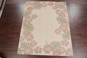 Indoor/ Outdoor Floral Belgium Contemporary Oriental Area Rug Decorative Carpet