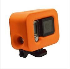 Orange Floating Floaty Cover Box Protective Case for GoPro Hero 3+ 4 Camera