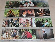 Sigourney Weaver lobby card set 12 Gorillas in the Mist Dian Fossey Story