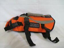 Outward Hound Dog Life Jacket Saver Preserver Safety Vest Orange Extra Small