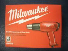 MILWAUKEE 8975-6 Heat Gun Dual Temperature 570 or 1000F 11.6A 15 cfm NEW