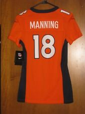 NEW NIKE STITCHED PEYTON MANNING DENVER BRONCOS JERSEY WOMENS EXTRA SMALL  $145