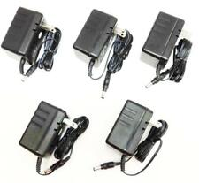 Lot of 5 Ul Power Supply Adapter Ac/Dc 12V 0.5A 500mA