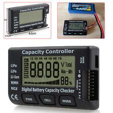 Digital LCD Battery Capacity Checker Controller Tester For LiFe LiPo Li-ion NiCd
