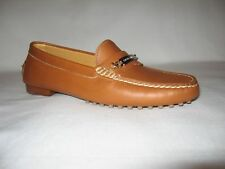 RALPH LAUREN GENUINE BRAND NEW (NIB) WOMANS LEATHER SLIP-ON LOAFERS C:Brown S:7