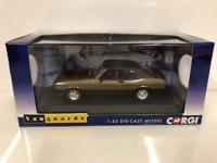 Corgi VA10818 Ford Capri MK3 3.0S Arizona Bronze New 1:43 Scale