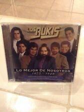 Los Bukis Lo Mejor de Nosotros 1972-1986 CD New Nuevo sealed