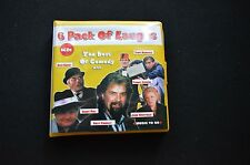 THE BEST OF COMEDY AUSTRALIAN 6 x CD SET IN WALLET! BILLY CONNOLLY BENNY HILL