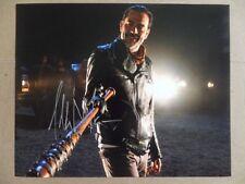 "Jeffrey Dean Morgan Signed ~~Autographed Photo ""Walking Dead"""