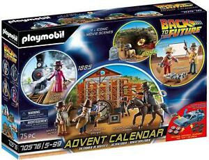 Playmobil Back to the Future Western Advent Calendar McFly Doc Biff