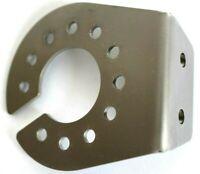 Steckdosen Halter für 7/13 polige Steckdose Edelstahl 2,5 mm doppel Schliff