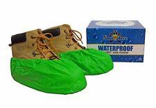 ShuBee® Waterproof Shoe Covers - Bright Green (40 Pair)