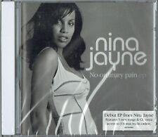 "NINA JAYNE - 5"" CD - No Ordinary Pain ep (4 Track) Enhanced  Promo  RCA"