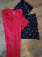 Tommy Hilfiger Herren Zweiteiliger Schlafanzug Pyjama Set, Medium