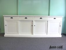 Shabby-Chic Dresser Dresser Solid Soft Wood Wardrobe Counter Apothekerkommode